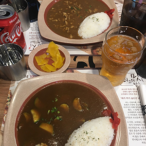 Korean curry blog 300 X 300