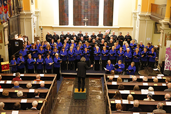 Bird's Eye of Choir