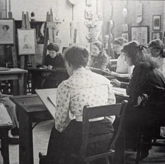 School of Art Archive - historical photo