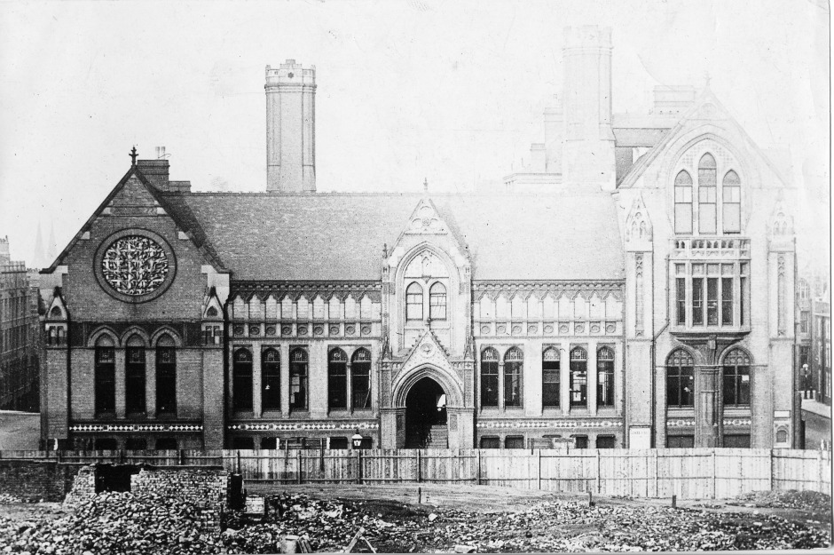 Old Picture of School of Art