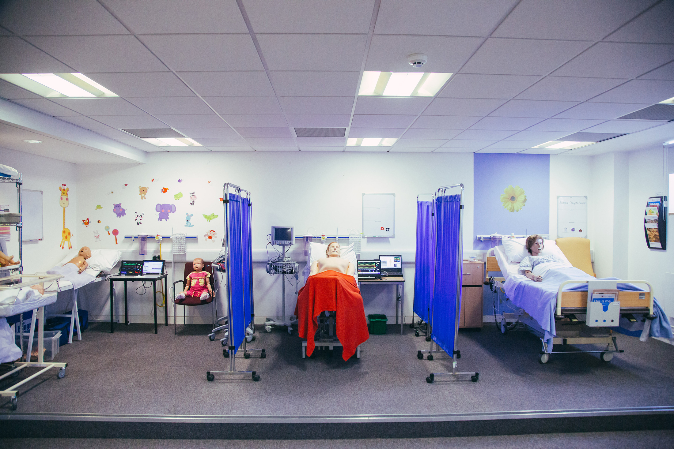 Nursing and Midwifery facilities - 6 space ward