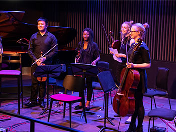 BRC Day celebrated the Conservatoire's new distribution deal with NMC Recordings