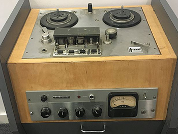 Charles Parker archive radio