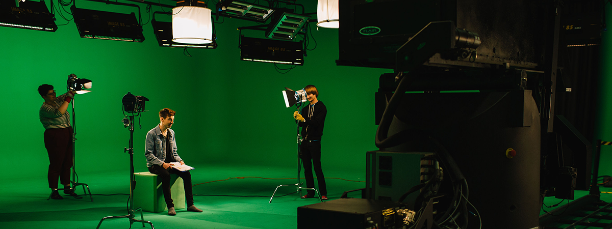 How to make use our giant Green Screen