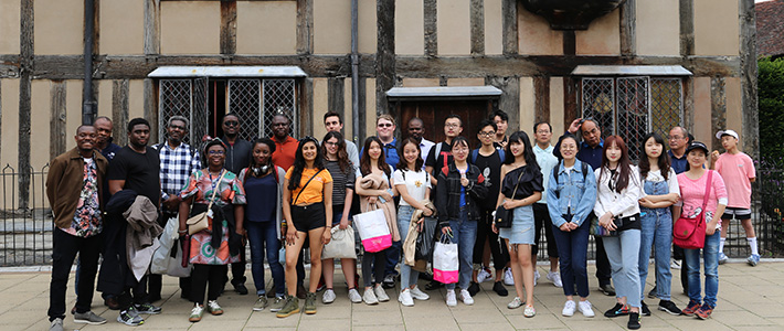 Student's at BCU's International Summer School