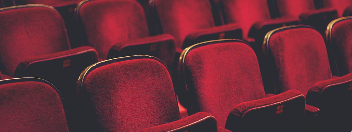 Making Sense of Coercive Control 1200x450: Theatre seats
