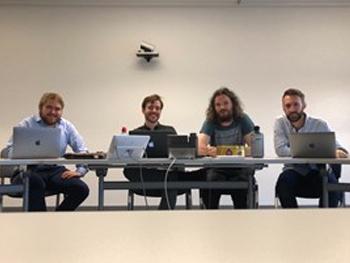 Photo of CEBE Music Start up team
