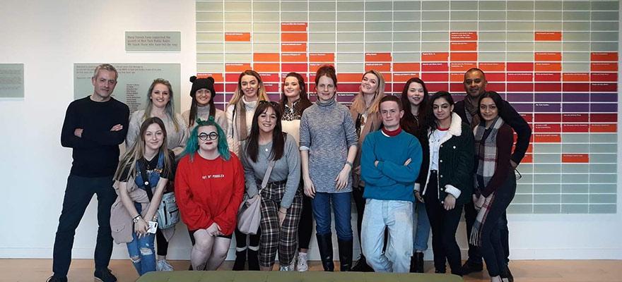Media NYC trip students
