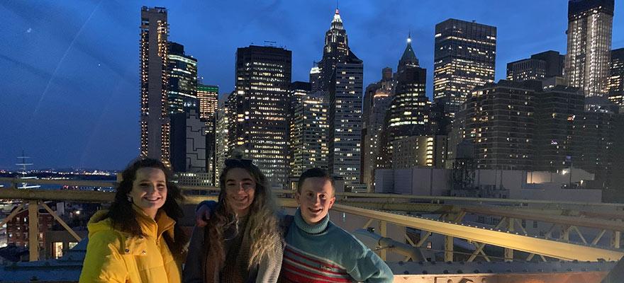 Media NYC trip skyline