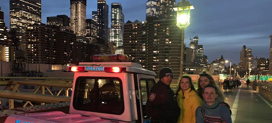 Media NYC trip Police