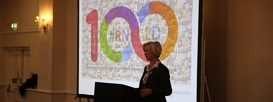 Ruth May delivers keynote speech