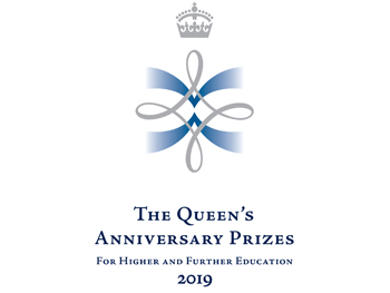 Queen's Anniversary Prize logo news