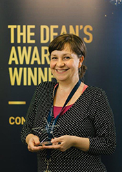 Researcher of the Year - The Business School - Dr Charlotte Carey 177x250