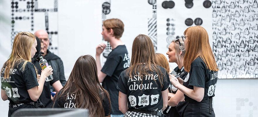 Birmingham Design Festival 2019 volunteers