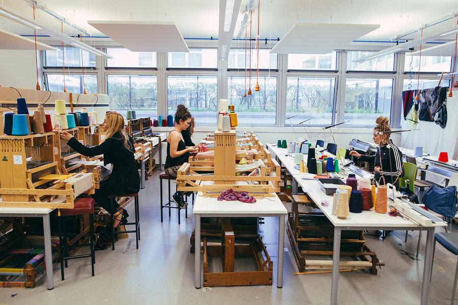 Textiles Weave Room WS