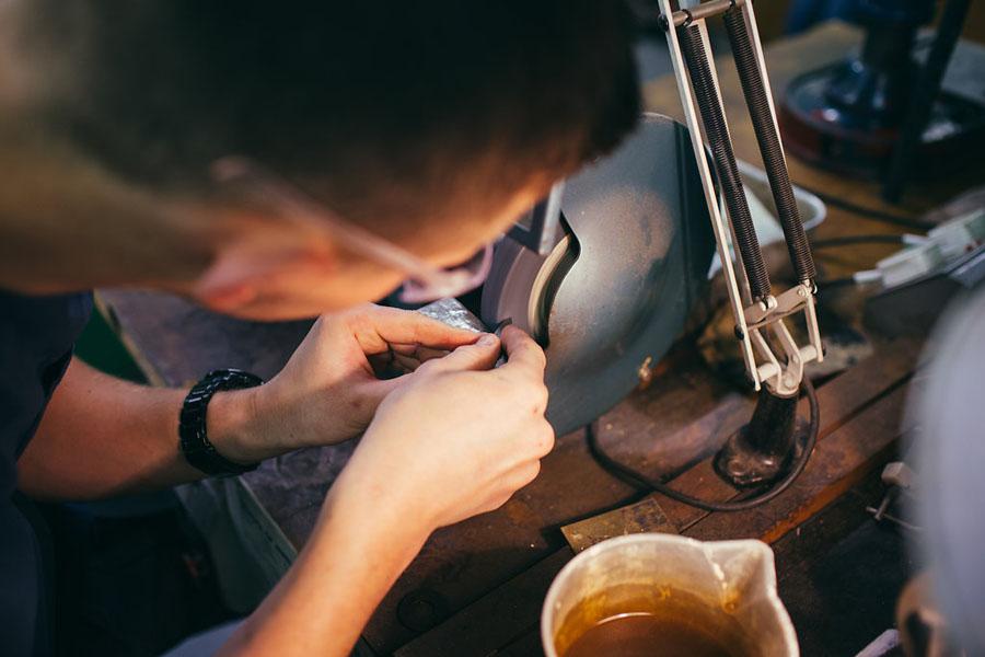 Off hand grinder - Jewellery