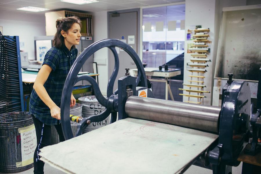VisCom Roller Press 1