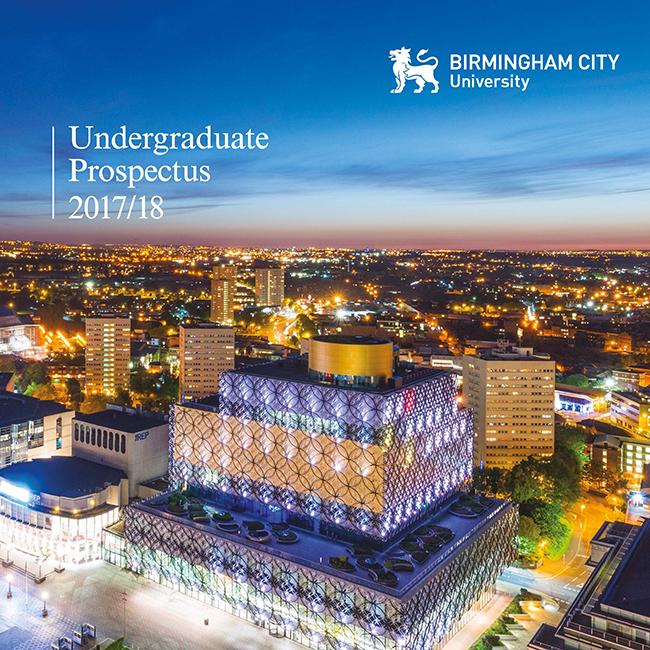cover of BCU Undergraduate guide