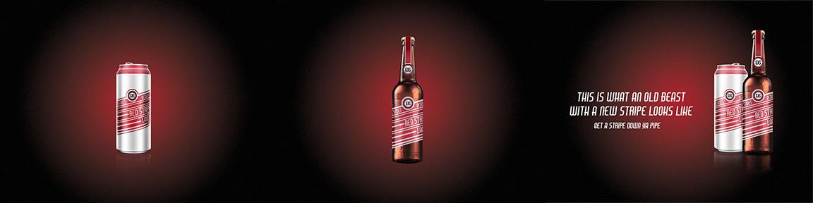 Red Stripe Beer - Classic taste, legendary look