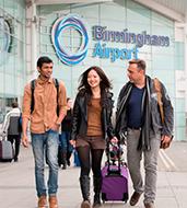 Birmingham airport students