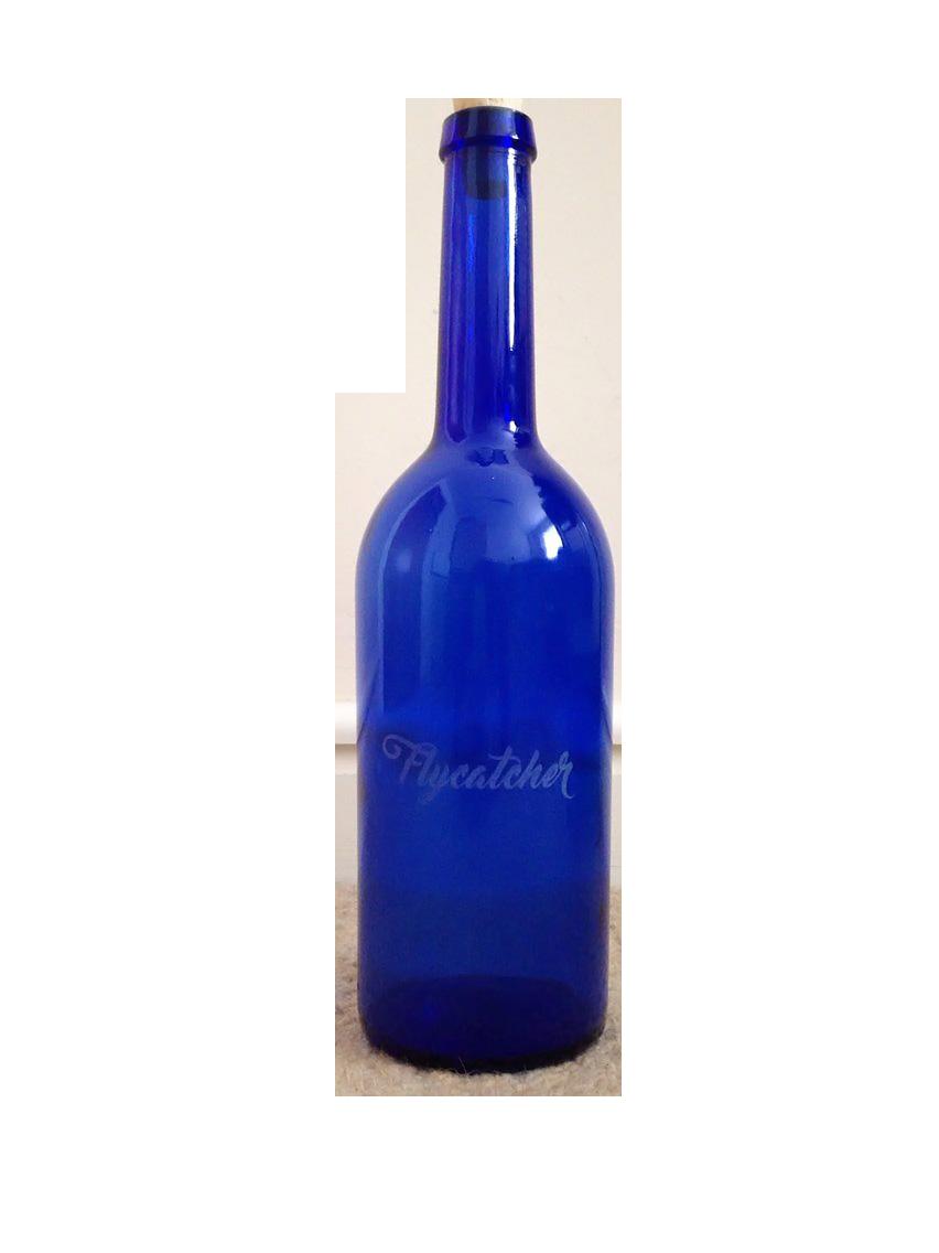 Flycatcher tequila bottle