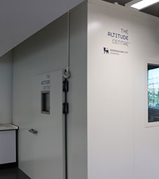 Sports facilities - altitude chamber