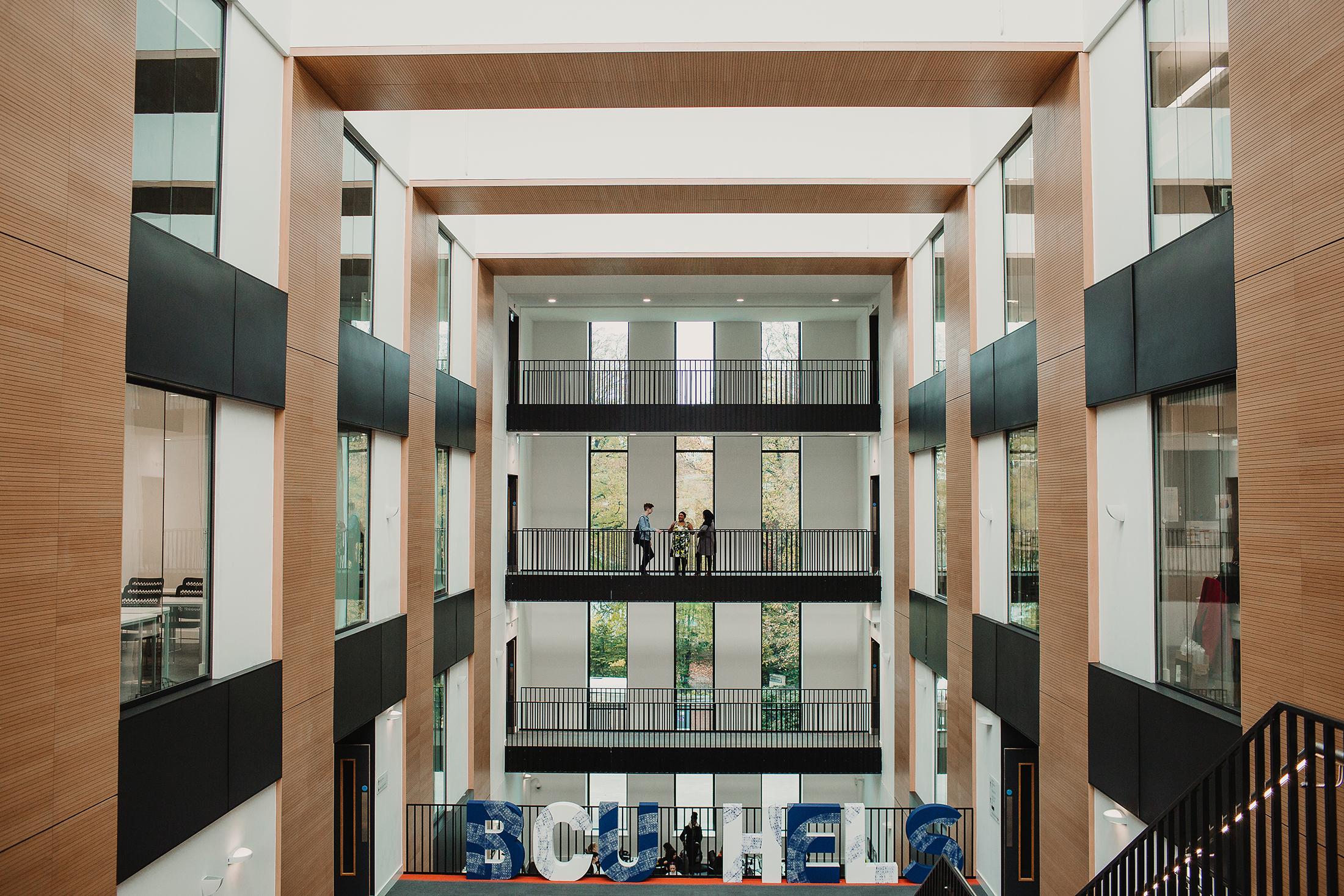 Seacole building - atrium