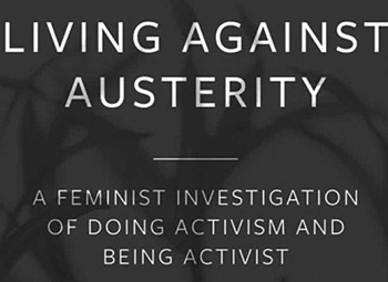 Living Against Austerity, a new book by BCU lecturer Dr Emma Craddock.