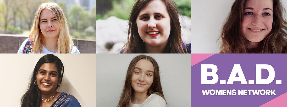 Headshots of the BAD Women's Network committee