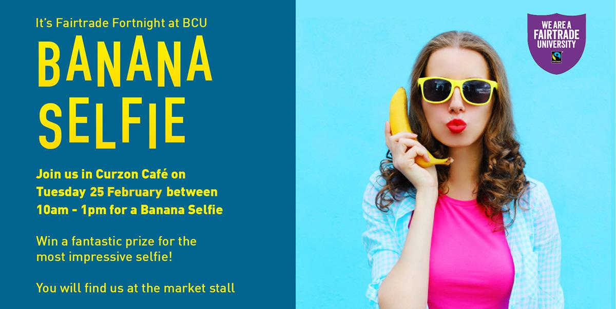 Fairtrade fortnight banana