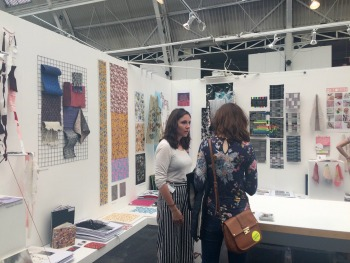 Holly Lloyd Williams- New Designers stand