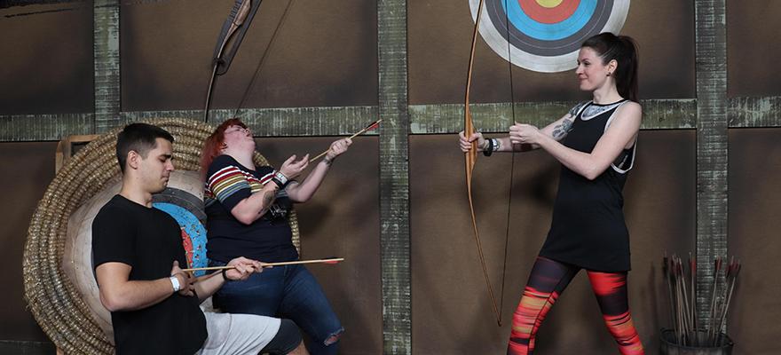 Bear Grylls Adventure - archery