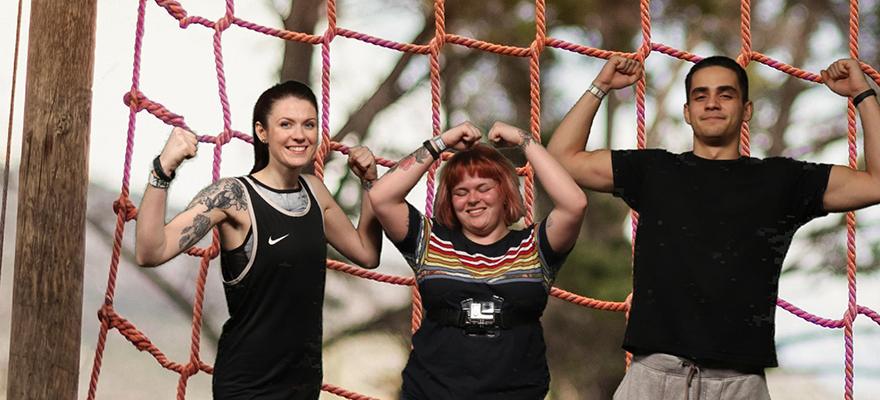 Bear Grylls Adventure -  high ropes