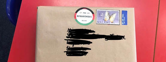 Parcel from Malawi