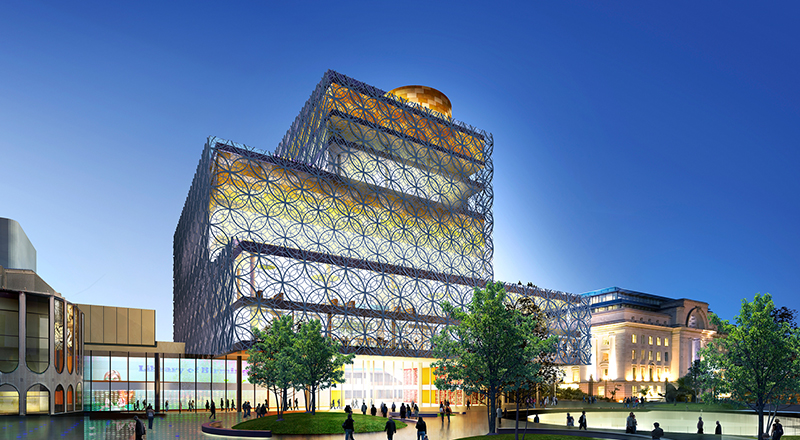Birmingham library image for cleatr