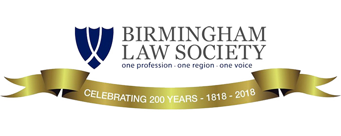 Birmingham Law Society 200 Years Banner