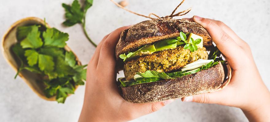 Burger article veggie