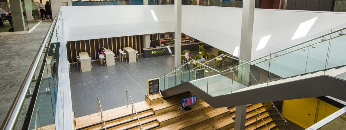 Business School - Small Business Charter award 1200x450 - Curzon building interior