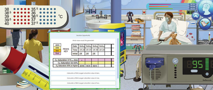 Online Simulations and Serious Games - School of Health