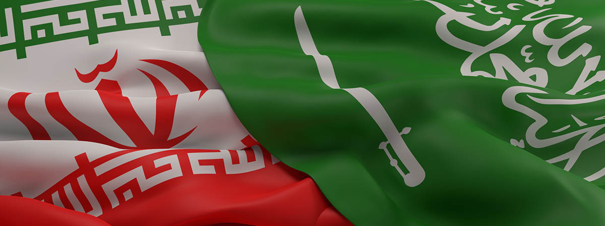 Cold War Article 1200x450 - Saudi Arabia and Iran flag