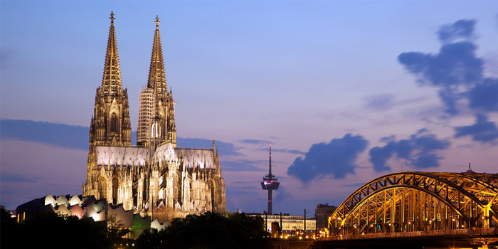 Cologne 700x350 - Cologne, Germany skyline