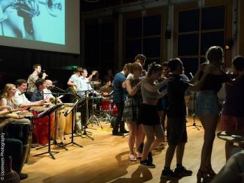 BCU Afro Cuban band- conga