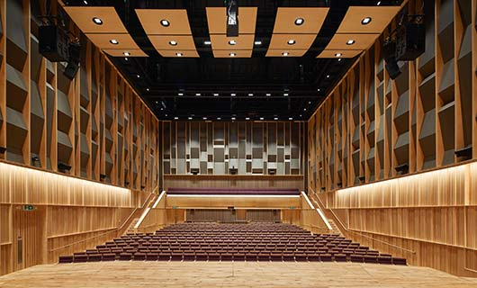 The Concert Hall homepage tile