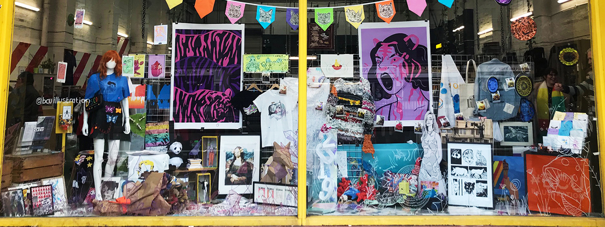 First-year BA (Hons) Illustration students took part in a live project with Cow Vintage.
