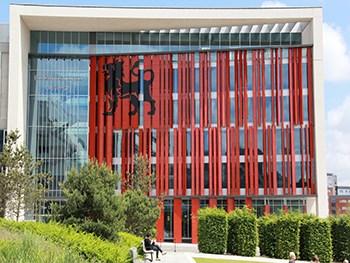 front view curzon building