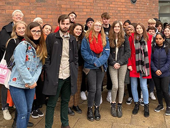Design Manchester trip- Graphic Communication 2019