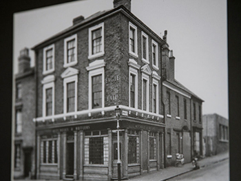 Eagle and Ball pub old