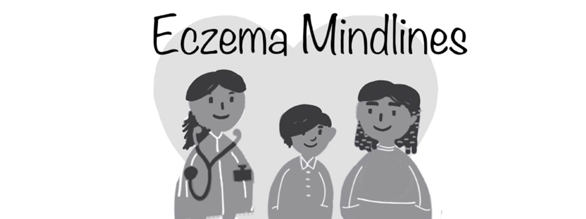 Logo for the Eczema Mindlines project
