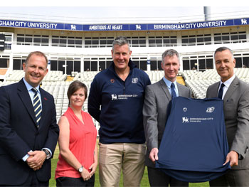 Edgbaston partnership news