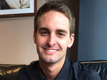 Evan Spiegel, founder of Snapchat